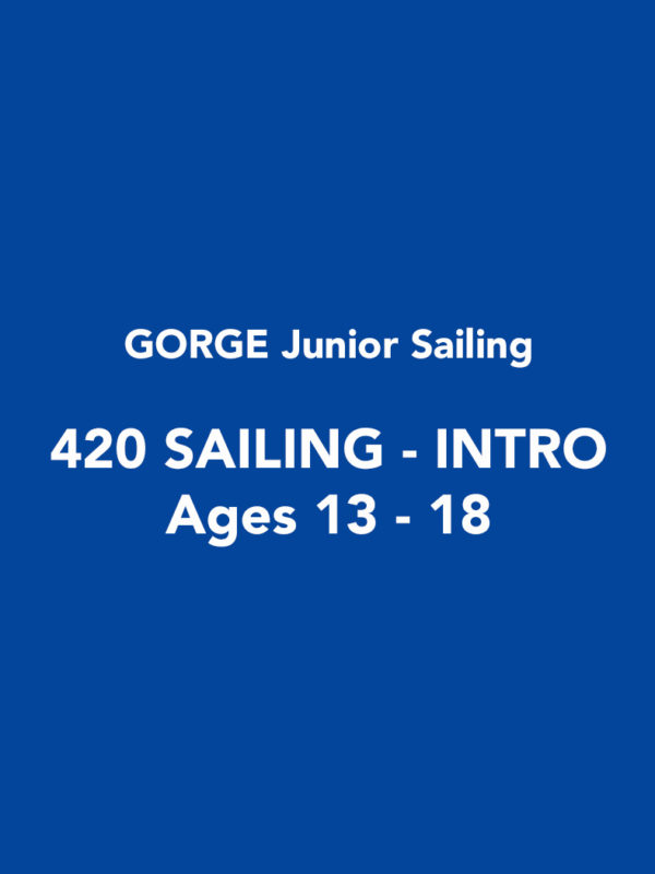 GORGE Jr Sailing - 420 Sailing